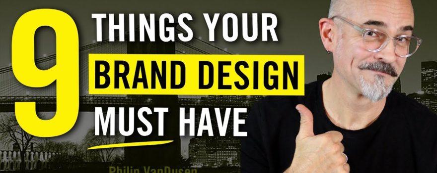 Brand Design Elements for Designers and Entrepreneurs