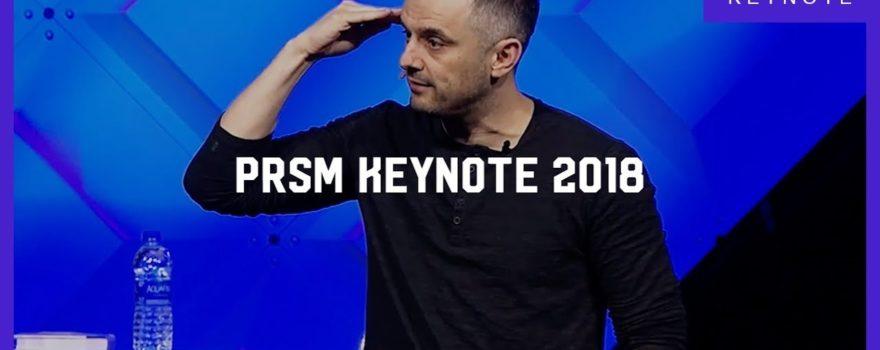PRSM Keynote 2018